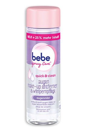 bebe Young Care quick & clean augen make-up entferner & wimpernpflege