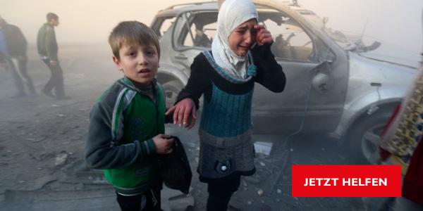 Krieg in Syrien: Jetzt helfen!