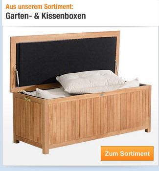 Garten- &                                             Kissenboxen