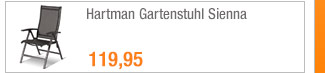 Hartman Gartenstuhl                                             Sienna
