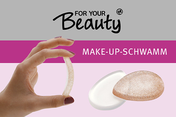 for your Beauty Make-up Schwamm aus Silikon
