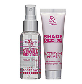 "RdeL Young ""Shade & Shine"" Mattifying Primer + Fixing Spray"