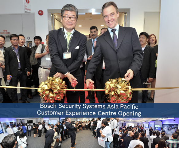 Official Opening of Bosch Security Customer Experience Centre in Singapore