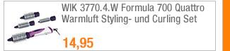 WIK 3770.4.W Formula                                             700 Quattro Warmluft                                             Styling- und Curling Set