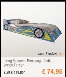 Living Moments                                             Rennwagenbett,                                             versch.Farben