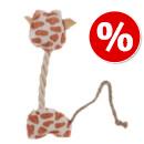50% DI SCONTO! - Gioco per gatti Giraffina in peluche con catnip >>