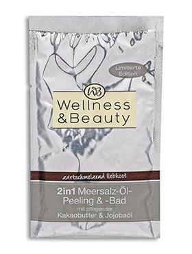 "Wellness & Beauty ""zartschmelzend liebkost"" Peeling & Bad"