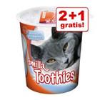 1 x 125 g GRATIS! - Offerta snack Smilla<br />(3 x 125 g) >>