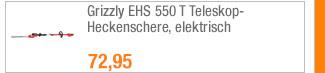 Grizzly EHS 550 T                                             Teleskop-Heckenschere,                                             elektrisch