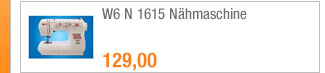 W6 N 1615 Nähmaschine