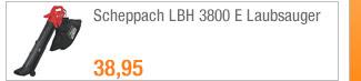 Scheppach LBH 3800 E                                             Laubsauger
