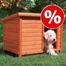 20 € DI SCONTO! - Cuccia Trixie Natura con tetto piatto >>