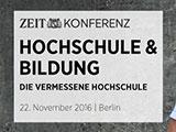 ZEIT KONFERENZ Hochschule & Bildung