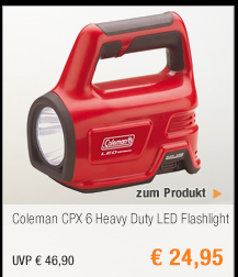Coleman CPX 6 Heavy                                             Duty LED Flashlight