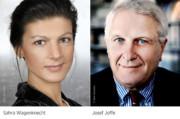 Matinee: Sahra Wagenknecht im Gespräch mit Josef Joffe und Roman Pletter