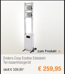 Enders Cosy Ecoline                                             Edelstahl Terrassenheizgerät