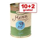2 lattine GRATIS! - Con 10 x 400 g di umido Lukullus... >>
