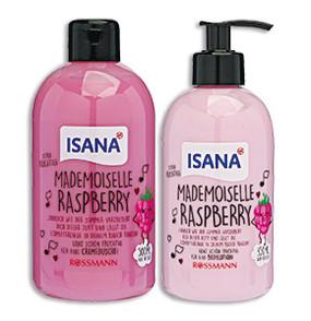 ISANA Mademoiselle Raspberry Cremedusche + Bodylotion
