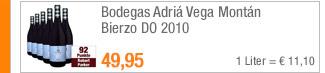 Bodegas Adriá Vega                                             Montán Bierzo DO 2010