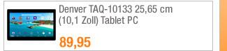 Denver TAQ-10133 25,65                                             cm (10,1 Zoll) Tablet PC