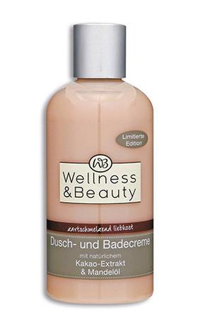 """Wellness & Beauty """"zartschmelzend liebkost"""" Dusch- und Badecreme"""