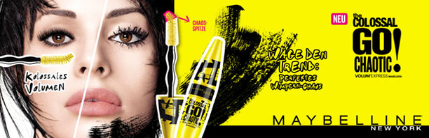Maybelline New York Colossal Go Chaotic! Mascara