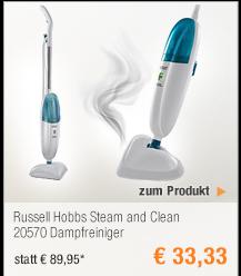 Russell Hobbs Steam and                                             Clean 20570 Dampfreiniger