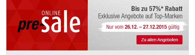 Großer Online Pre Sale bei GALERIA Kaufhof | Galeria