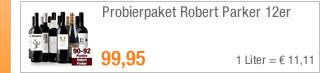 Probierpaket Robert                                             Parker 12er