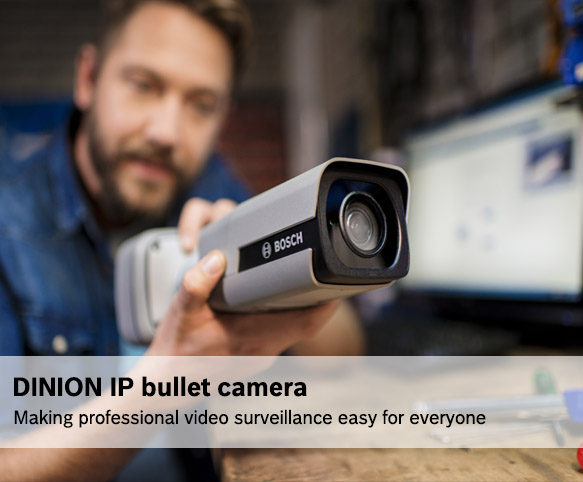 DINION IP bullet camera - Making professional video surveillance easy for everyone