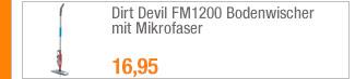 Dirt Devil FM1200                                             Bodenwischer mit Mikrofaser