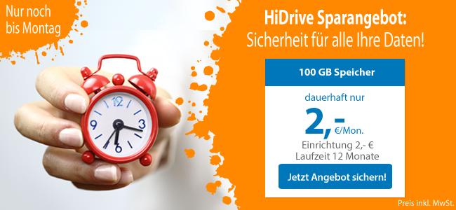 HiDriveSpecial: im Galopp zu mehr Datensicherheit!