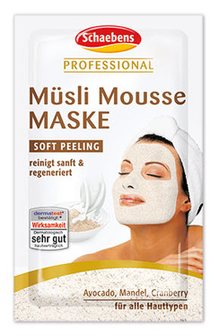 Schaebens Professional Müsli Mousse Maske