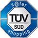 TÜV-Auszeichnung für                                             den Plus Online Shop