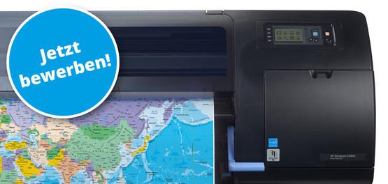 Der HP Designjet Z6800 druckt Fotos und Grafiken in bester Qualität (Quelle: Hewlett-Packard)