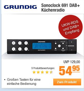 Grundig Sonoclock 691                                             DAB+ Küchenradio