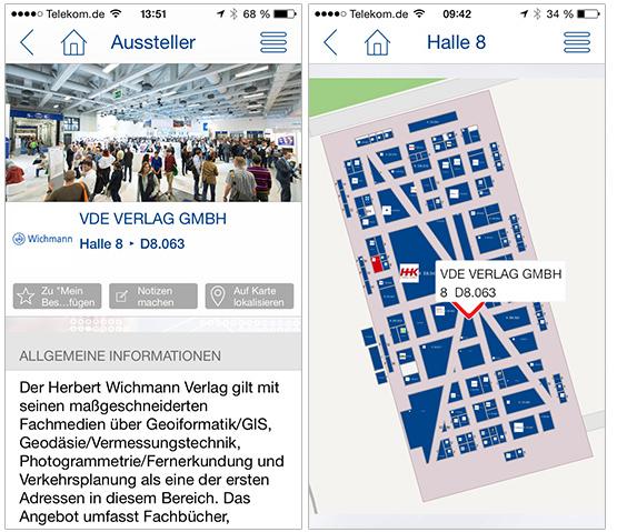 INTERGEO-App im neuen Design