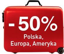 -50% Polska, Europa, Ameryka