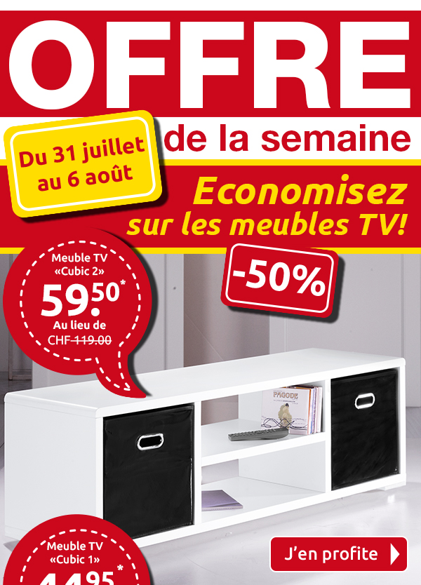 meuble tv promotion. Black Bedroom Furniture Sets. Home Design Ideas