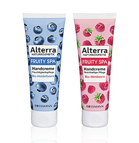 "Alterra ""Fruity Spa"" Handcremes"