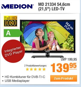 """Medion MD 21334 54,6cm                                             (21,5"""") LED-TV"""