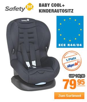 Safety 1st Baby                                                     Cool+                                                     Kinderautositz