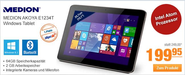 MEDION AKOYA E1234T                                             Windows Tablet
