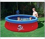 Bestway -                                                           3D Piraten                                                           Abenteuer Fast                                                           Set Pool mit                                                           3D-Schwimmbrillen                                                           und                                                           Piratenschatz