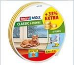 tesamoll                                                           Classic                                                           E-Profil                                                           Gummidichtung                                                           8 m = 33%                                                           Extra