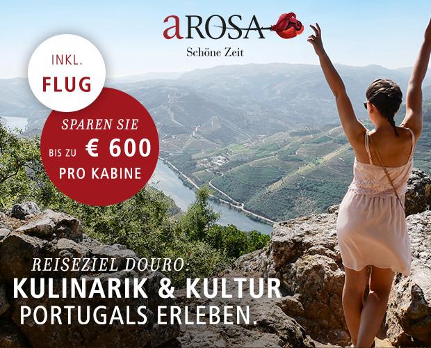 A-ROSA ReiseLiebe mit UrlaubsPLUS