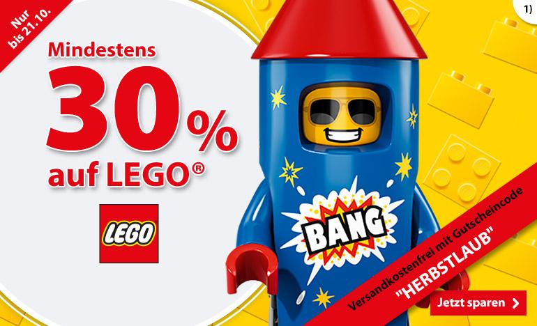 LEGO mindestens 30% sparen
