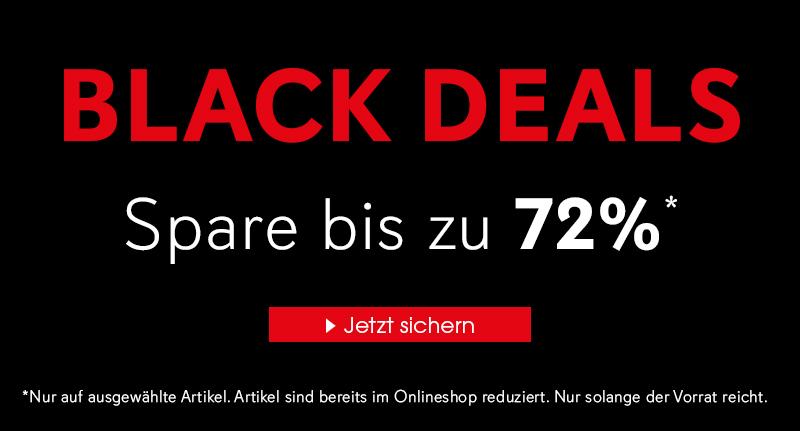 Black Deals - Spare bis zu 72%