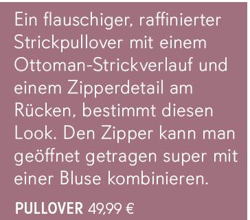 Pullover weicher Feinstrick, teils gestreift