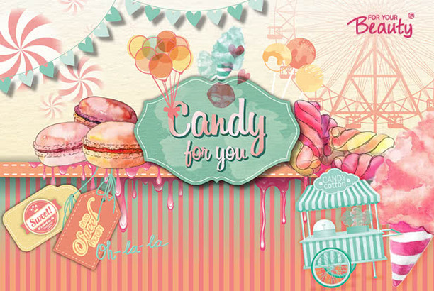 "for your Beauty ""Candy for you"""